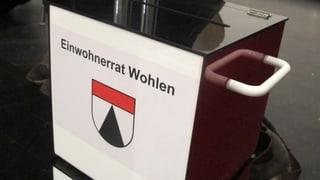 Wohlen: Die bürgerliche Mitte gewinnt bei den Einwohnerratswahlen
