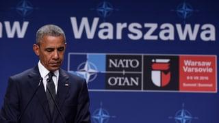 «Obama redet den Europäern ins Gewissen»