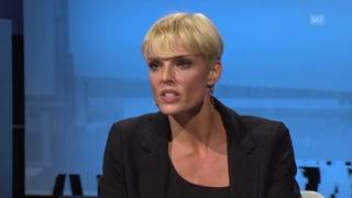 Stéphanie Berger zu Gast bei «Aeschbacher»