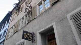Die alte Weinstube der «Tanne» bleibt erhalten