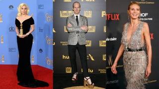 Golden Globes: So glänzten die Stars auf dem roten Teppich