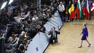 EU-Staatschefs lassen Theresa May auflaufen