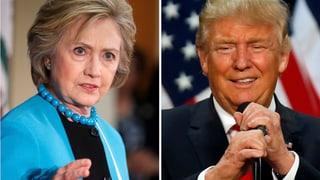 Clinton gegen Trump: Wer hat die besseren Karten?