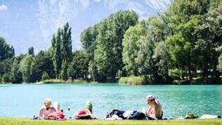 Erster Hitzetag nördlich der Alpen