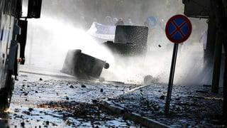 Tote bei Zusammenstössen in der Türkei