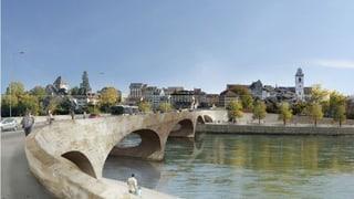 Einwohnerrat Aarau nun doch für «Luxusvariante» der Kettenbrücke