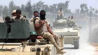 Militar egipzian mazza 29 extremists