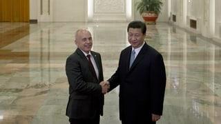 Schweiz und China unterzeichnen Absichtserklärung