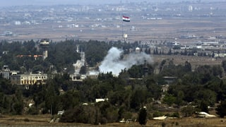 Feuergefecht auf dem Golan
