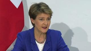 «Wir beginnen sofort mit der Umsetzung des Asylgesetzes» (Artikel enthält Video)