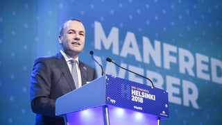 Europas Konservative setzen auf Manfred Weber