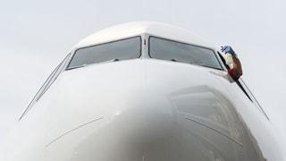Wie Cockpit-Türen gesichert sind