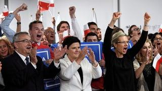 Rückenwind für die Regierungspartei PiS