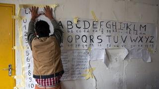 Flüchtlinge mit tiefem Bildungsstand – was tun?