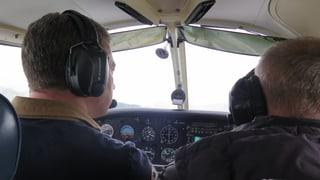 Kurs gegen Fluglärm am Flugplatz