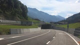 Freie Fahrt durch das Prättigau: Umfahrungstunnel Küblis eröffnet