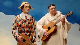 Video «Bilder allein zuhaus: Harlekin und Pierrot (6/30)» abspielen