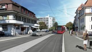 Knapper Entscheid für das Tram Region Bern in Köniz