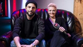 «Teleprompter-Challenge» mit Bligg und Susanne Kunz