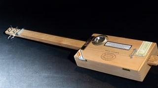 «Selbstgemacht»: Zigarrenbox-Gitarre (Artikel enthält Video)