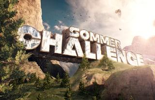 Sommer Challenge Hier geht's heiss zu und her!
