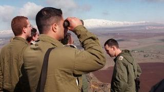 Raketen aus Syrien treffen Golanhöhen