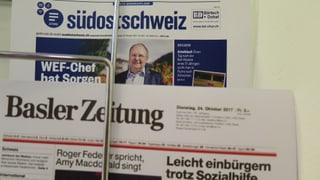 Südostschweiz und Basler Zeitung prüfen Zusammenarbeit