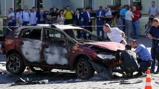 Bekannter Journalist stirbt bei Explosion einer Autobombe in Kiew
