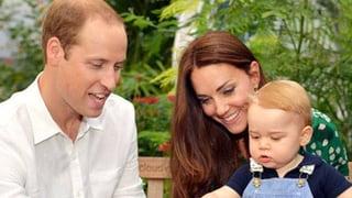 Prinz William: «George im Fussballstadion? Das entscheidet Kate»