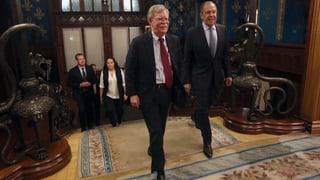 Moskau warnt USA vor Sicherheitsrisiko