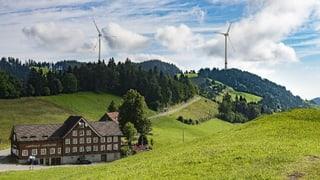 Wenig Chancen für Windpark in Appenzell Innerrhoden