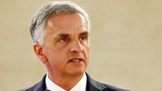 Bundesrat Burkhalter: «Die EU soll nun konkret vorwärts machen»