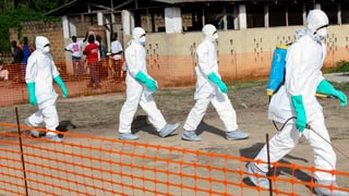 Angst vor der Ebola-Seuche: Liberia geht in Quarantäne