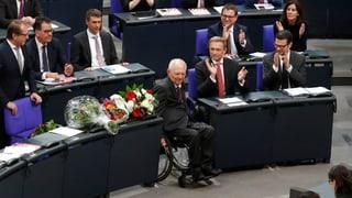 Wolfgang Schäuble ist der neue Bundestagspräsident – und was sonst noch in Berlin passierte.