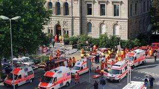 Attentat schockierte Zug und die Welt