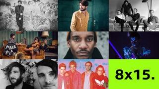 8 Bands, 120 Minuten: Diese Acts waren am «8x15.» in Schaffhausen