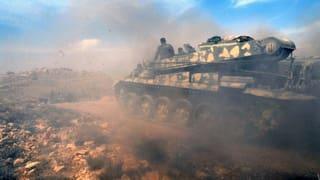 Die syrische Armee drängt Rebellen zurück