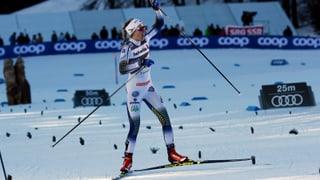 Tour de ski 2 – Stina Nilsson gudogna il sprint