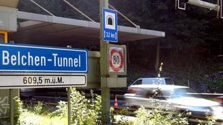 Die Sanierung des Tunnels ist teurer als ursprünglich geplant