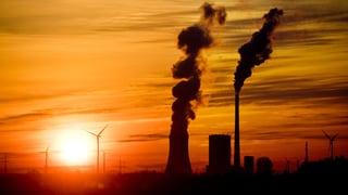 Kohle bleibt ganz oben auf der Klima-Agenda