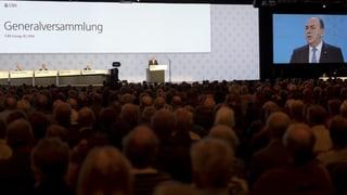 Sind Generalversammlungen grosser Konzerne nur eine Farce?