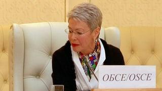 Waffenruhe in der Ukraine: OSZE-Vertreterin zuversichtlich