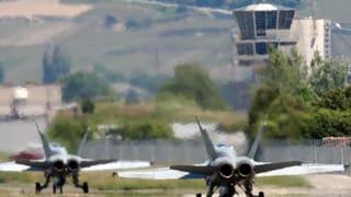 Das Ende des Militärflugplatzes Sitten ist eingefädelt