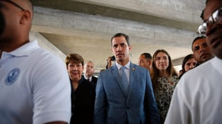 Guaidó schliesst US-Intervention nicht aus