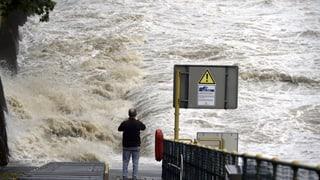 Hochwasserlage bleibt alarmierend