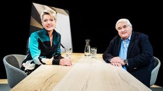 «Focus Blind Date»: Karin Keller-Sutter und Jacky Donatz (Artikel enthält Video)
