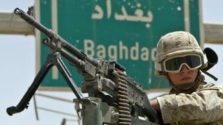 «Der Irak-Krieg war ein Komplott»