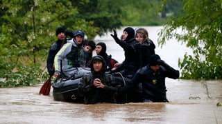 Südosteuropa kämpft mit dem Regen