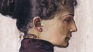 Frauen mit schrägem Köpfchen