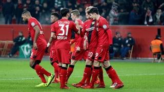 Leverkusen mit Moral, Bayern mit Leichtigkeit